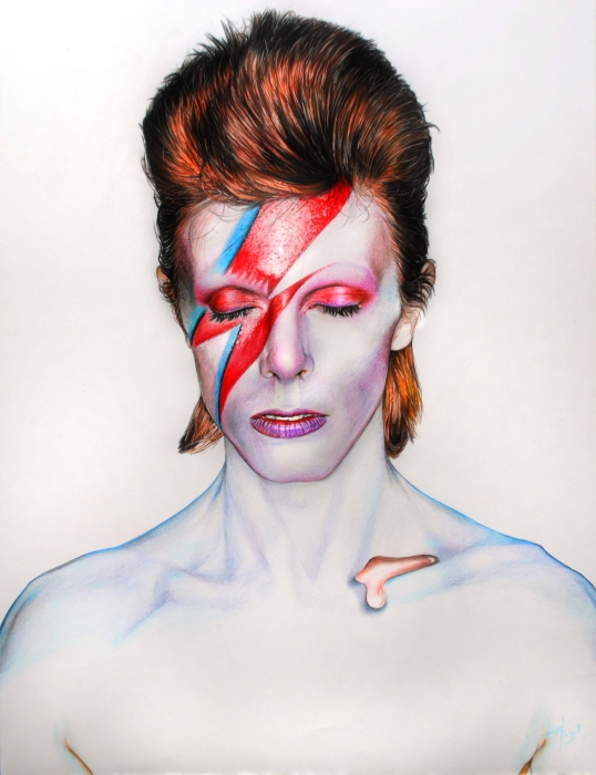 David Bowie por Arcitenens